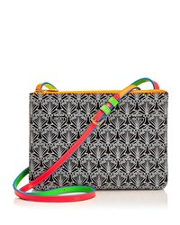 Bayley Duo Iphis Printed Canvas Shoulder Bag Neon Women's Liberty London