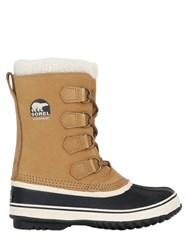 Sorel 1964 Pac 2 Faux Shearling And Suede Boots