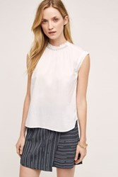 Anthropologie Venezia Tank White