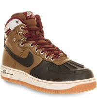 Nike Air Force One Duck Boots Umber Velvet Brown