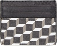 Pierre Hardy Black Cube Print Card Holder