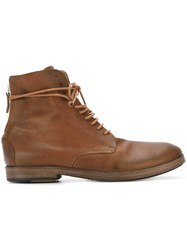 Marsell Marsa Ll Lace Up Boots Brown