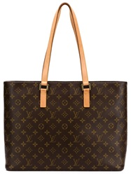 Louis Vuitton Vintage 'Luco' Bag Brown
