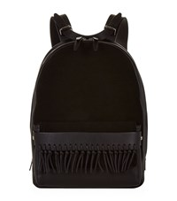 3.1 Phillip Lim Bianca Suede And Leather Backpack Female Black