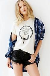Urban Outfitters Neil Young Crazy Horse Tee Ivory