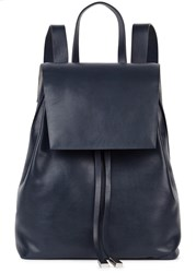 Gvyn Cole 2.0 Navy Leather Backpack