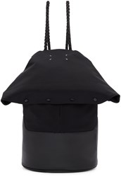 Maison Martin Margiela Black Foldover Backpack