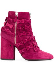 Laurence Dacade 'Mery' Boots Pink And Purple