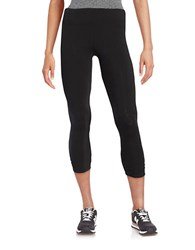 Calvin Klein Ruched Leggings Black