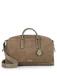 Ben Minkoff Jermyn Suede Carry All Tote Bag Taupe