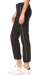 Monrow Sweatpants With Studs Black