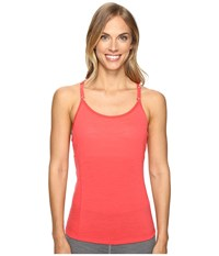 Smartwool Nts Micro 150 Strappy Tank Top Hibiscus Women's Sleeveless Pink