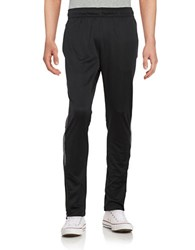 Calvin Klein Striped Performance Pants Black