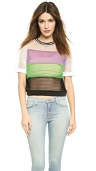 Endless Rose Colorblock Crop Top Multi