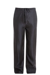 Rag And Bone Gabrielle Trousers Navy