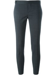 Dsquared2 Cropped Slim Fit Trousers Grey