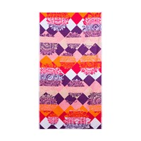 Desigual Romantic Patch Multi Jacquard Towel Hand