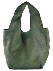 Numero 10 'Charleston' Shoulder Bag Green