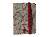 Haiku Track Rfid Passport Case Mushroom Handbags Gray