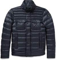 Moncler Forbin Quilted Shell Down Jacket Navy