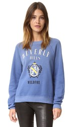 Wildfox Couture Beverly Hills Academy Sweater Monday Blues