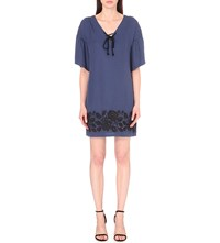 French Connection Mai Woven Tunic Indigo