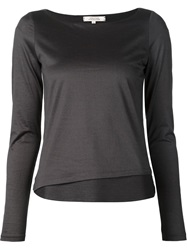 Dorothee Schumacher Layered Longsleeved Top Grey