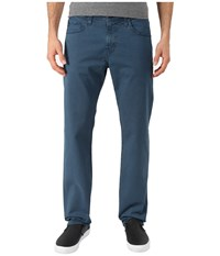 Ag Adriano Goldschmied Matchbox Slim Straight Twill In Sulfur Rapid Blue Sulfur Rapid Blue Men's Clothing