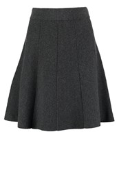 More And More Aline Skirt Dark Steel Anthracite