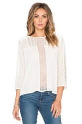Heartloom Addison Top Ivory