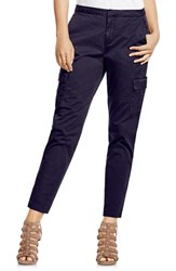 Women's Two By Vince Camuto Cotton Chino Crop Cargo Pants Evening Na