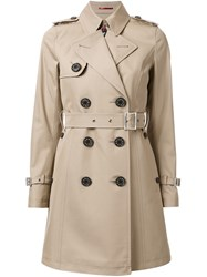 Loveless Trench Coat Brown