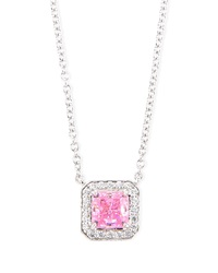 Fantasia 18K Gold Plated Cz Pendant Necklace
