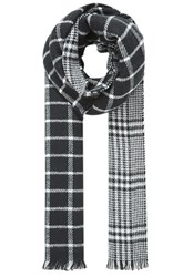 Hallhuber Double Face Check Scarf