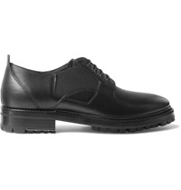 Lanvin Elasticated Leather Derby Shoes Black