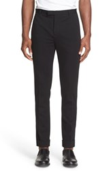 Atm Anthony Thomas Melillo Men's Cuffed Flat Front Pants