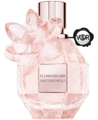 Viktor And Rolf Flowerbomb Limited Edition Pink Crystal 1.7 Oz No Color