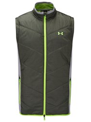 Under Armour Coldgear Infrared Knock Down Vest Green