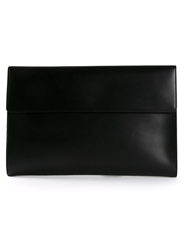 Loewe Polished Flap Document Holder Black