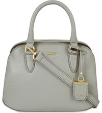 Dkny Chelsea Vintage St Small Leather Satchel Grey