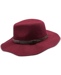 Inc International Concepts Belted Band Panama Hat Only At Macy's Wine