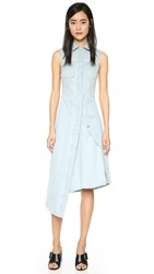 Acne Studios Carda Denim Dress Light Vintage