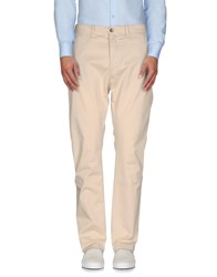 40Weft Trousers Casual Trousers Men Beige