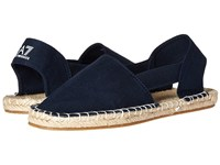 Emporio Armani Summer Splash Espadrillas Navy Women's Shoes