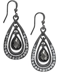 Styleandco. Style And Co. Hematite Tone Teardrop Earrings Only At Macy's