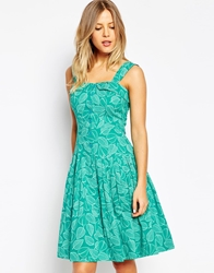 Emily And Fin Emily And Fin Amelia Printed Sun Dress 894Green