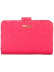 Furla Snap Wallet Pink And Purple