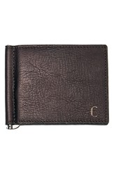 Men's Cathy's Concepts Personalized Leather Wallet And Money Clip Brown Brown C
