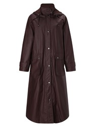 Four Seasons Waxed Coat Grape