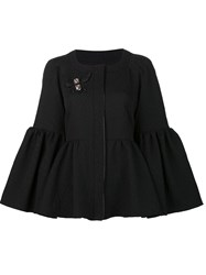 Zac Posen Bell Sleeves Jacket Black